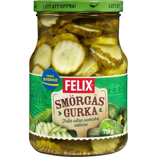 Smörgåsgurka Skivad Felix