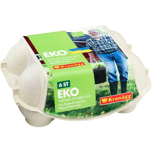 Ägg Frigående EKO 6-p M/L 379g