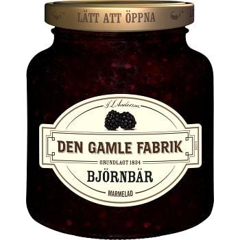 Björnbärsmarmelad 380g Den Gamle Fabrik