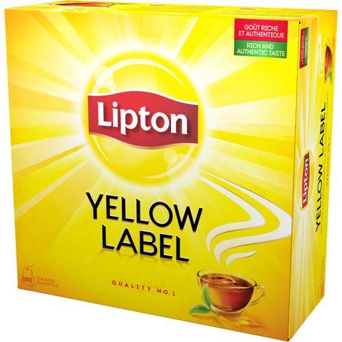 Svart Te Yellow Label 100-p