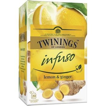 Örtte Infuso Lemon & Ginger 20-p Twinings