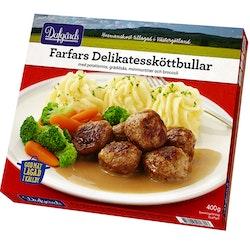 Farfars Delikatessköttbullar