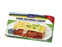 Karins Vegetariska Lasagne 1 port