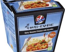 Thai Cube Spicy sesame chicken Noodles