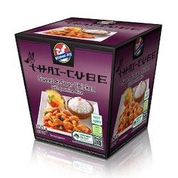 Sweet & Sour Kyckling med jasmine ris.