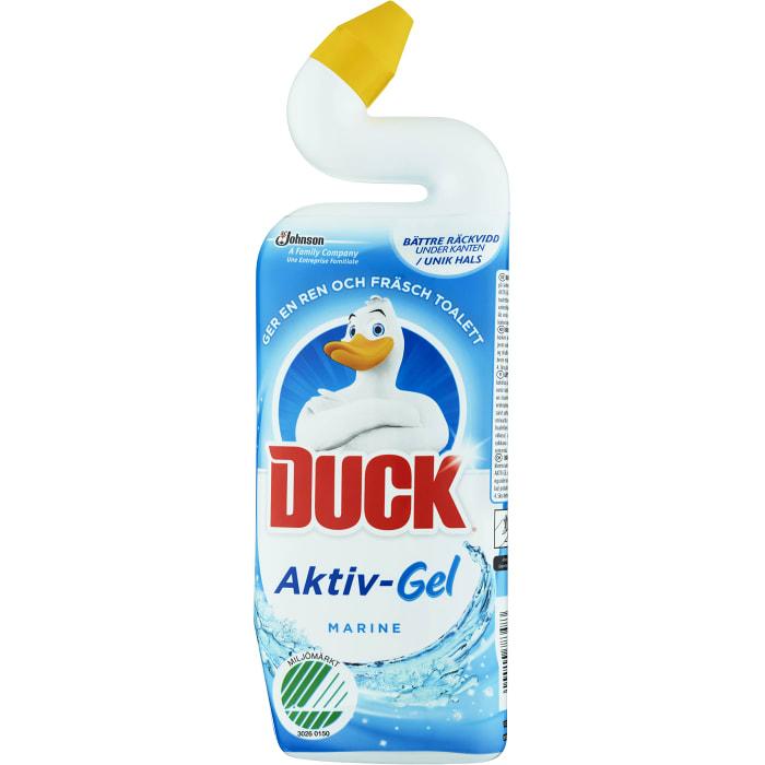 Toalettrengöring Aktiv gel Marine 750ml Miljömärkt Duck