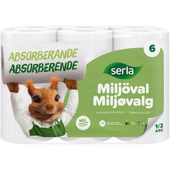 Hushållspapper Serla 6-Pack