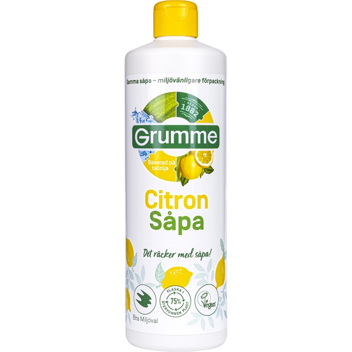 Grumme Såpa Citron 750ml