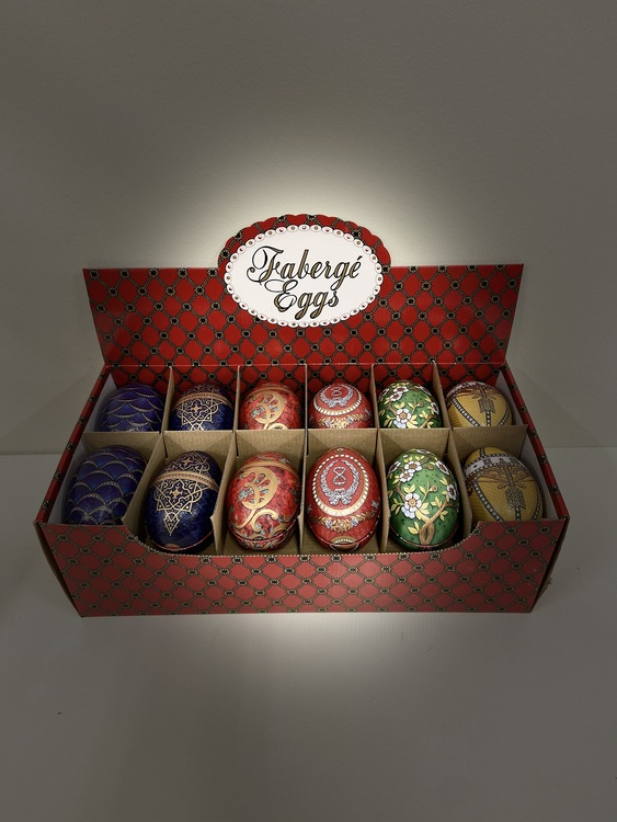 Exklusivt Fabergé Ägg med Lindt choklad