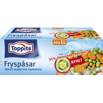 Fryspåsar 60-p 1l Toppits
