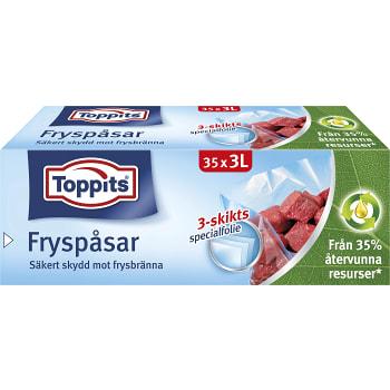 Fryspåsar 3l 35-p Toppits