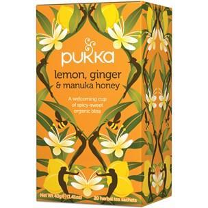 Pukka Örtte Lemon, Ginger & Manuka Honey 20-pack
