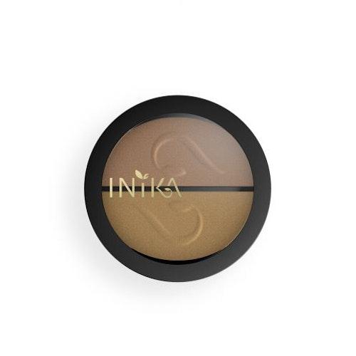 INIKA Pressed Mineral Eye Shadow Duo