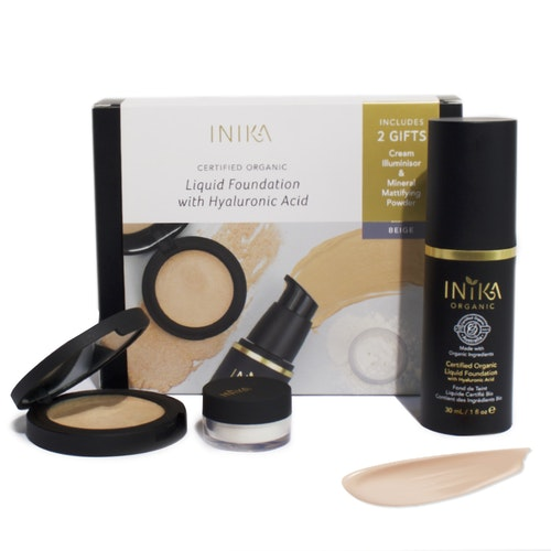 INIKA Fresh & Flawless kit (bonusgåvor)