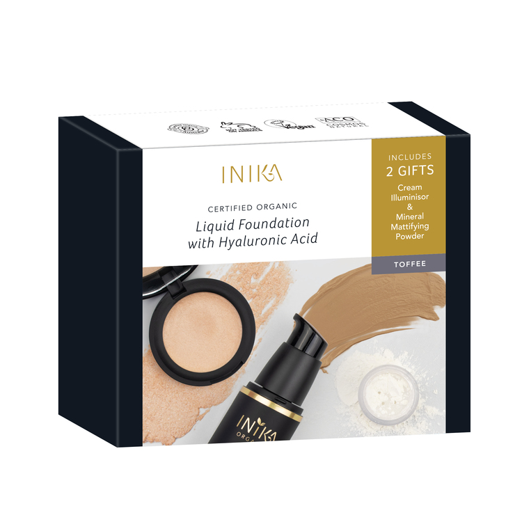 INIKA Fresh & Flawless kit (bonusgåvor)