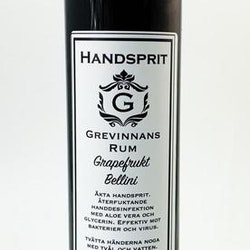 Handsprit Grapefrukt Bellini 200ml - Grevinnans rum