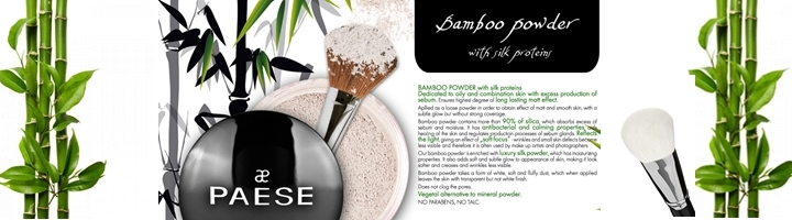 Bambu & Ris Puder - Mixedcosmetics