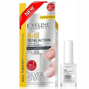 Nail Therapy 8in1 Nail Conditioner Silver Shine
