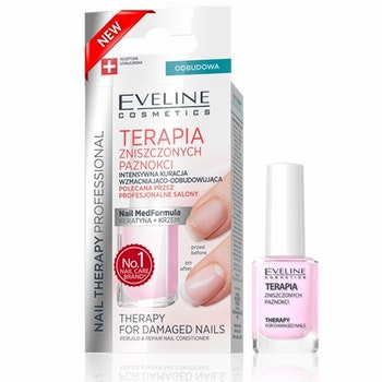 Nail Therapy For Damaged Nails Rebuild And Repair Conditioner