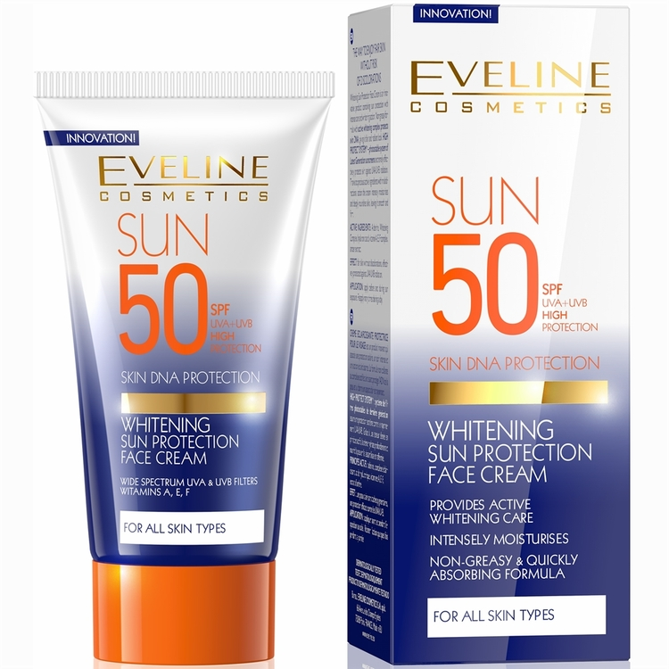 Whitening Sun Protection Face Cream SPF 50