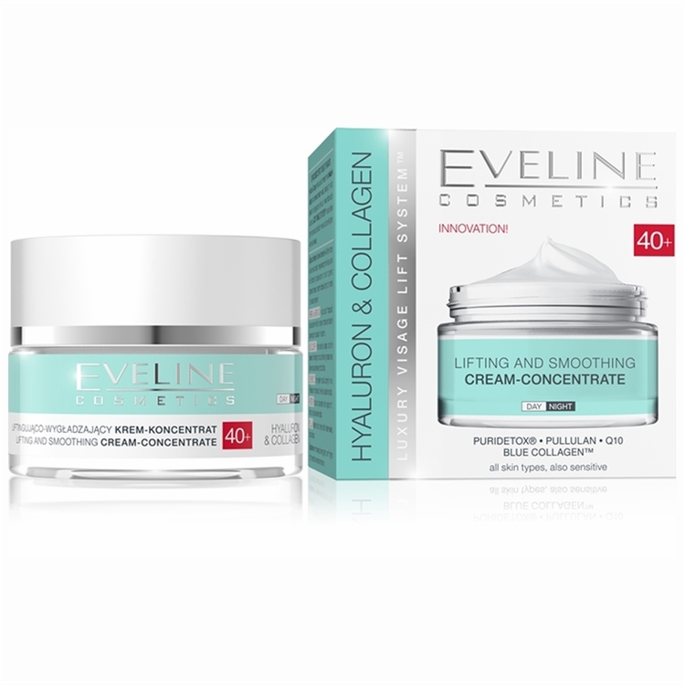 Hyaluron And Collagen Day And Night Cream 40+