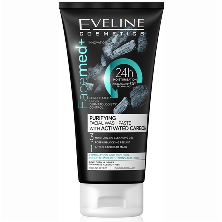 FaceMed Purifying Facial Wash Paste With Activated Carbon