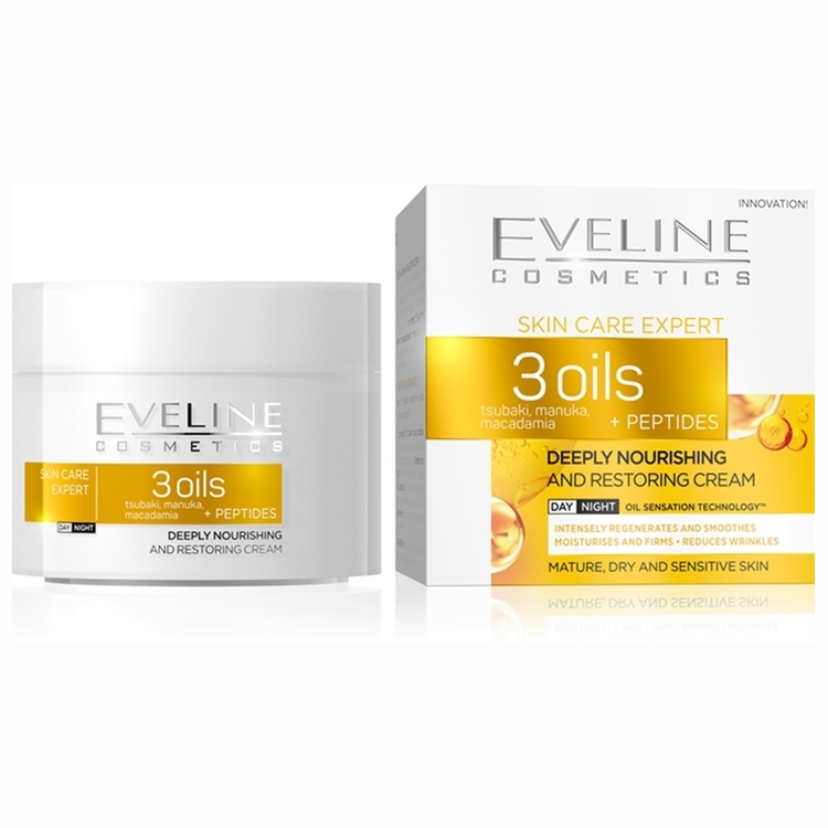 3 Oils And Peptides Deeply Nourishing Day&Night