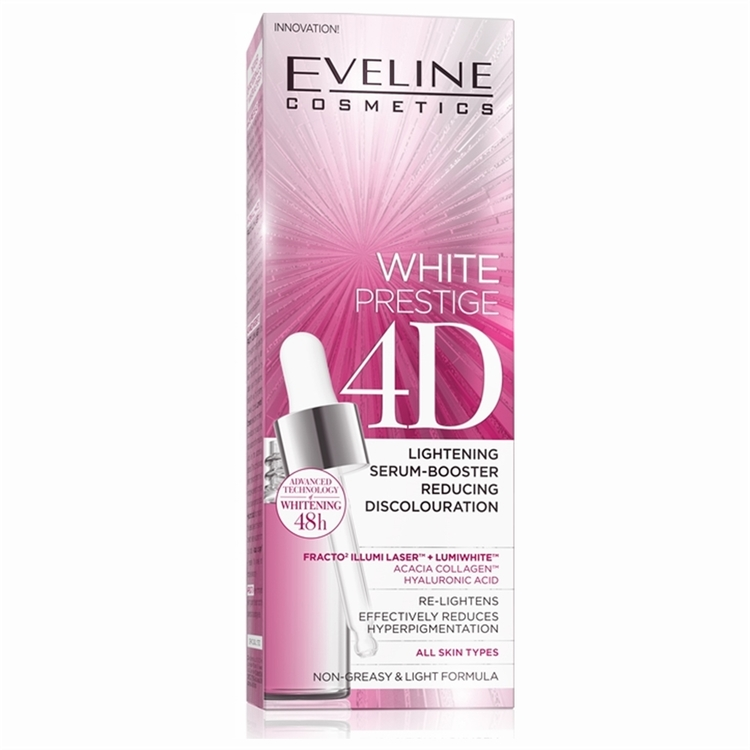 White Prestige 4D Lightening Serum Reducing Discolouration