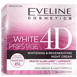 White Prestige 4D Whitening And Regenerating Night Cream