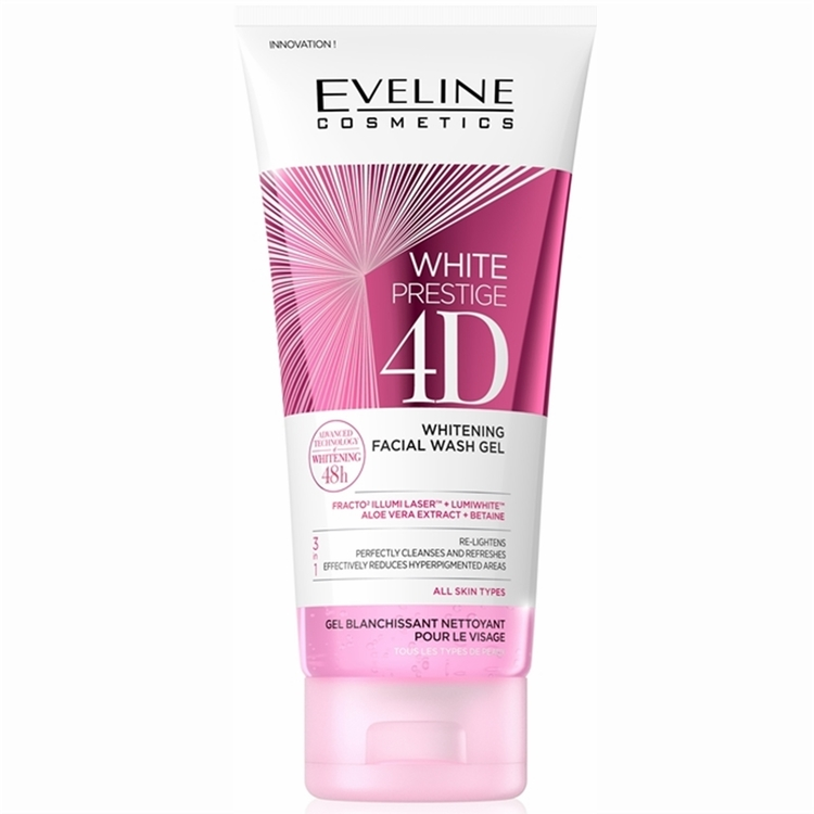 White Prestige 4D Whitening Facial Wash Gel