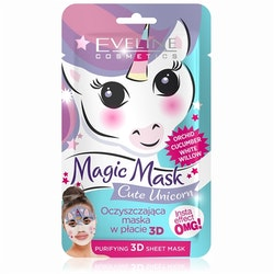 Magic Mask Cute Unicorn Purifying 3D Sheet Mask