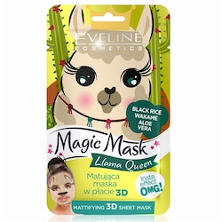 Magic Mask Llama Queen Mattifying 3D Sheet Mask