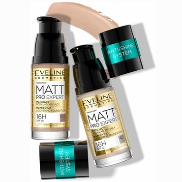 Matt Pro Expert Mattifying&Covering Fundation 400 Warm Beige