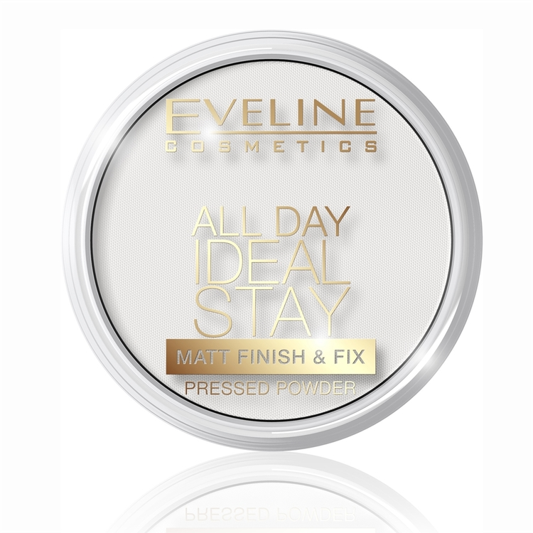 All Day Ideal Stay Matt Finish&Fix Pressed Puder No 60
