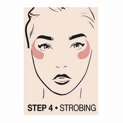 Creamy Contouring Stick Step 4 Strobing