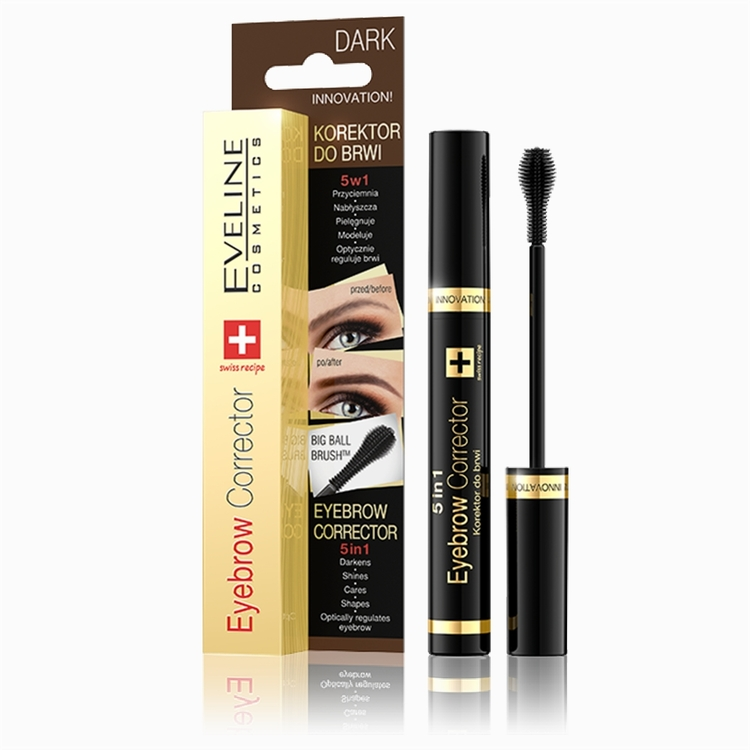 Eyebrow Corrector 5 in1Dark Brown