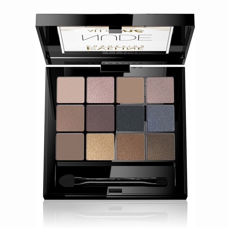 Eyeshadow Palette All In One 12 Colors Nude