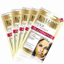 5st*7mlGold Lift Expert Rejuvenation Anti-Wrinkle Face Mask