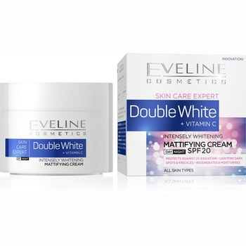 Intensely Whitening, Mattifying Day And Night Cream SPF20