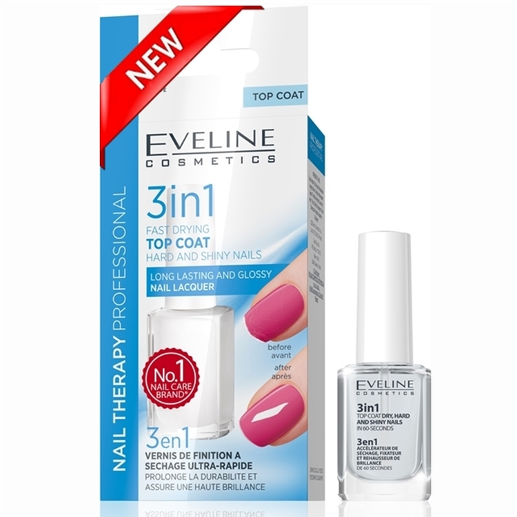 Nail 3 in 1 Dry, Hard And Shine Nail Polish In 60-Seconds