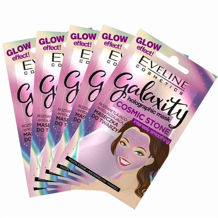 5st*10ml Galaxity Holographic Face Mask Intensely Smoothing