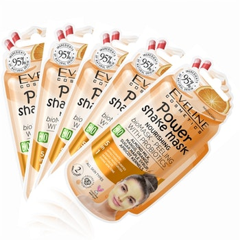 5st*10ml Power Shake Nourishing Mask-Peeling With Probiotics