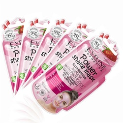 5st*10ml Power Shake Illuminating Mask With Probiotics