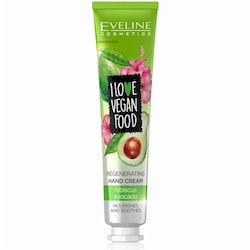 I Love Vegan Food Regenerating Hand Cream Avocado And Hibiskus