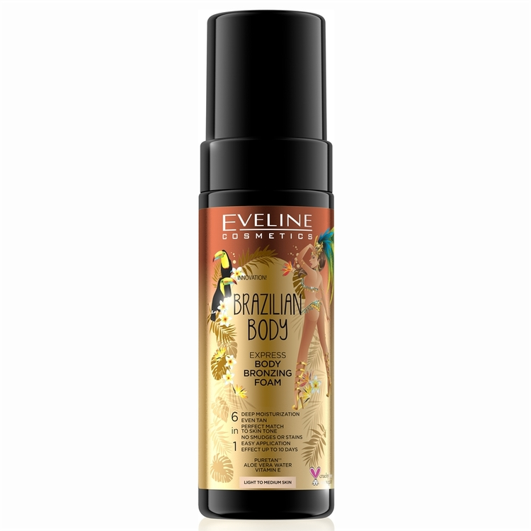 Brazilian Express Body Bronzing Foam