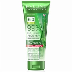 Natural Aloe Vera Tea Tree Oil Body And Face Gel