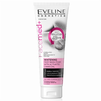 FaceMed Whitening Face Wash Foam With Activated Charcoal