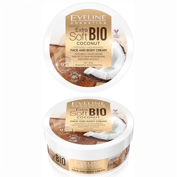 Bio Coconut Extra Soft Face And Body Cream