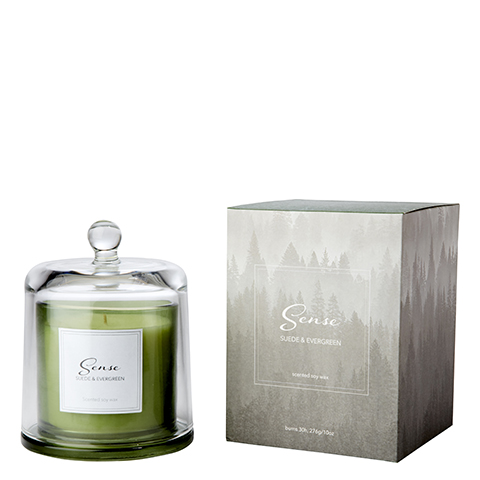 Sense Doftljus - Suede & Evergreen
