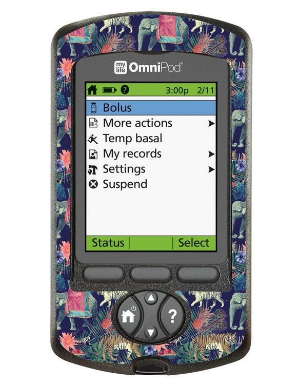 Omnipod PDM Sticker - Indian Spirit